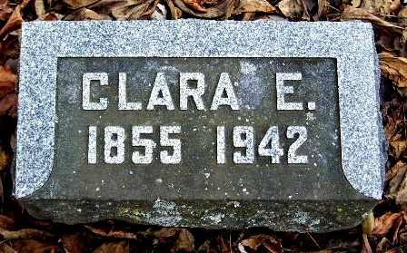 MOORE, CLARA E - Calhoun County, Michigan | CLARA E MOORE - Michigan Gravestone Photos