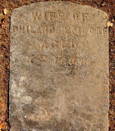 MOORE, CHARLOTTE - Calhoun County, Michigan | CHARLOTTE MOORE - Michigan Gravestone Photos