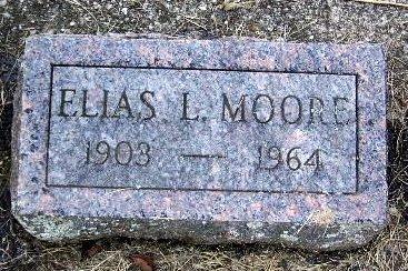 MOORE, ELIAS L - Calhoun County, Michigan | ELIAS L MOORE - Michigan Gravestone Photos