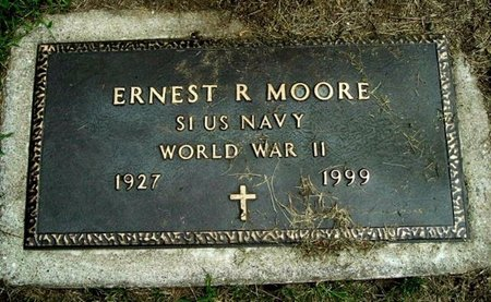 MOORE, ERNEST R. - Calhoun County, Michigan | ERNEST R. MOORE - Michigan Gravestone Photos