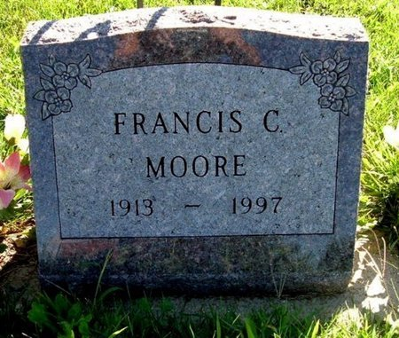MOORE, FRANCIS C. - Calhoun County, Michigan   FRANCIS C. MOORE - Michigan Gravestone Photos