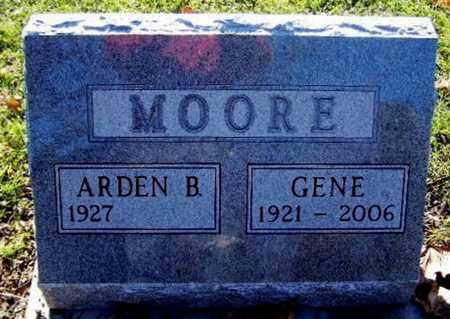 MOORE, GENE - Calhoun County, Michigan | GENE MOORE - Michigan Gravestone Photos