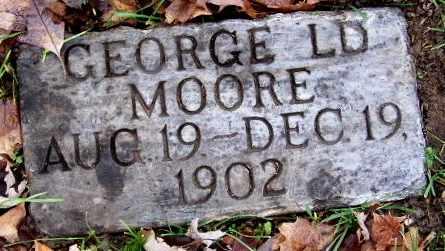 MOORE, GEORGE LD - Calhoun County, Michigan | GEORGE LD MOORE - Michigan Gravestone Photos