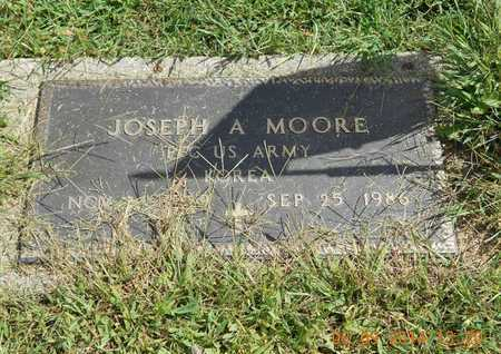 MOORE, JOSEPH A. - Calhoun County, Michigan | JOSEPH A. MOORE - Michigan Gravestone Photos
