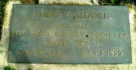 MOORE, JAMES H - Calhoun County, Michigan | JAMES H MOORE - Michigan Gravestone Photos