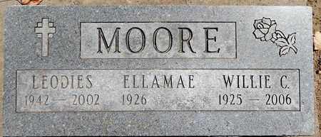 MOORE, LEODIES - Calhoun County, Michigan   LEODIES MOORE - Michigan Gravestone Photos