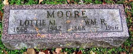 MOORE, LOTTIE R - Calhoun County, Michigan | LOTTIE R MOORE - Michigan Gravestone Photos