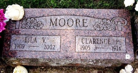 MOORE, LILA V - Calhoun County, Michigan | LILA V MOORE - Michigan Gravestone Photos