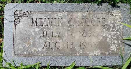 MOORE, MELVIN C - Calhoun County, Michigan | MELVIN C MOORE - Michigan Gravestone Photos