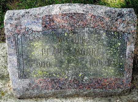 MOORE, PEARL - Calhoun County, Michigan | PEARL MOORE - Michigan Gravestone Photos