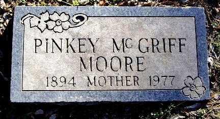 MOORE, PINKEY - Calhoun County, Michigan   PINKEY MOORE - Michigan Gravestone Photos
