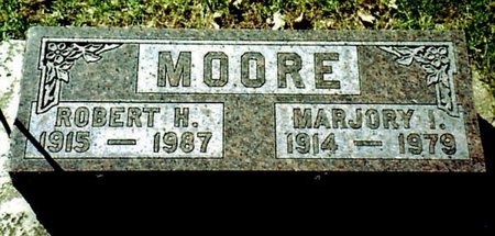 MOORE, MARJORY - Calhoun County, Michigan | MARJORY MOORE - Michigan Gravestone Photos