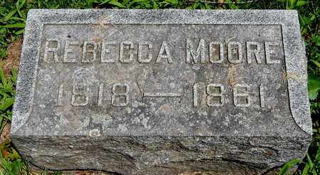 MOORE, REBECCA - Calhoun County, Michigan | REBECCA MOORE - Michigan Gravestone Photos