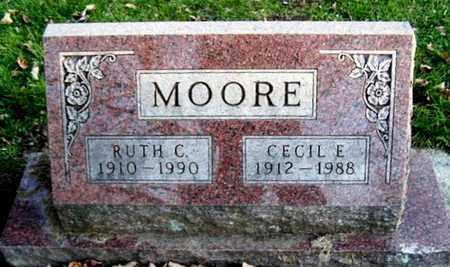 MOORE, RUTH C - Calhoun County, Michigan | RUTH C MOORE - Michigan Gravestone Photos