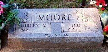 MOORE, TED - Calhoun County, Michigan   TED MOORE - Michigan Gravestone Photos