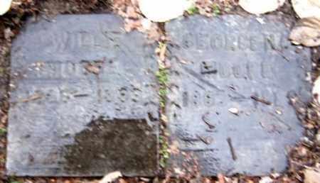 MOORE, GEORGE G - Calhoun County, Michigan   GEORGE G MOORE - Michigan Gravestone Photos