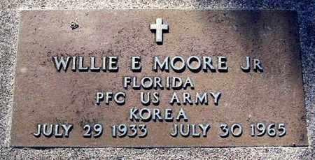 MOORE, WILLIE E., JR. - Calhoun County, Michigan | WILLIE E., JR. MOORE - Michigan Gravestone Photos