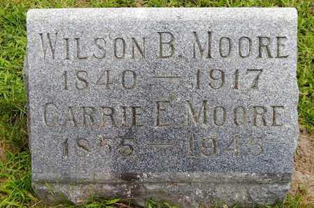 MOORE, CARRIE E - Calhoun County, Michigan | CARRIE E MOORE - Michigan Gravestone Photos