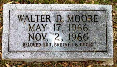 MOORE, WALTER D - Calhoun County, Michigan | WALTER D MOORE - Michigan Gravestone Photos