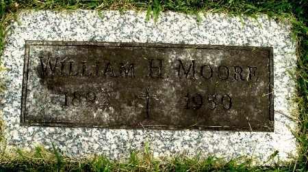 MOORE, WILLIAM H - Calhoun County, Michigan | WILLIAM H MOORE - Michigan Gravestone Photos