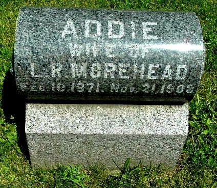 MORE, ADDIE - Calhoun County, Michigan | ADDIE MORE - Michigan Gravestone Photos