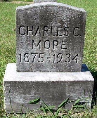 MORE, CHARLES C - Calhoun County, Michigan | CHARLES C MORE - Michigan Gravestone Photos