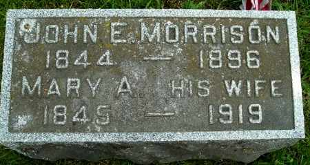 MORRISON, JOHN E - Calhoun County, Michigan | JOHN E MORRISON - Michigan Gravestone Photos