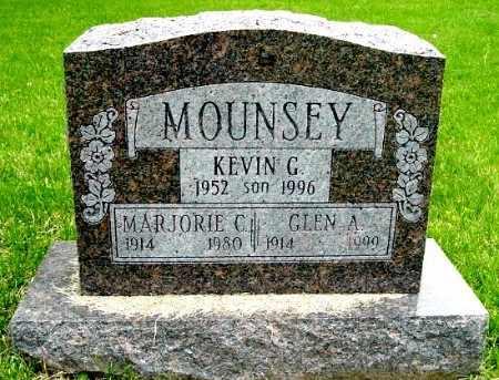 MOUNSEY, MARJORIE C - Calhoun County, Michigan | MARJORIE C MOUNSEY - Michigan Gravestone Photos