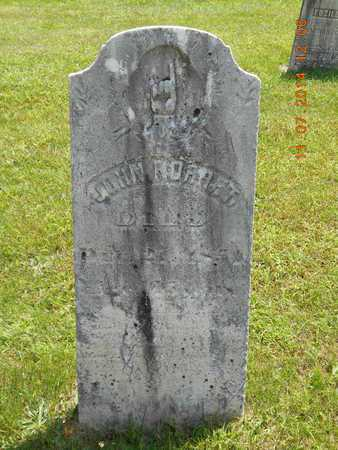 NORRET, JOHN - Calhoun County, Michigan | JOHN NORRET - Michigan Gravestone Photos