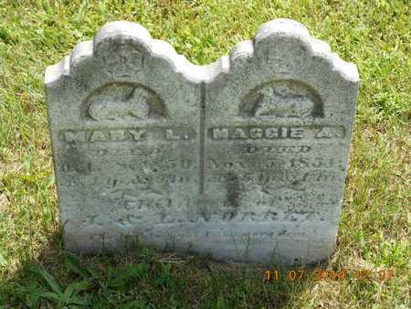 NORRET, MARY L. - Calhoun County, Michigan | MARY L. NORRET - Michigan Gravestone Photos