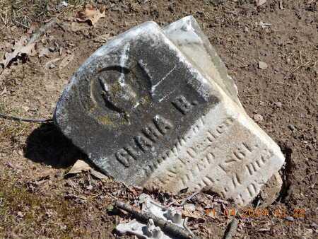 OGDEN, CLARA B. - Calhoun County, Michigan   CLARA B. OGDEN - Michigan Gravestone Photos