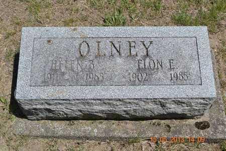 OLNEY, HELEN B. - Calhoun County, Michigan | HELEN B. OLNEY - Michigan Gravestone Photos
