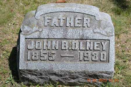 OLNEY, JOHN B. - Calhoun County, Michigan | JOHN B. OLNEY - Michigan Gravestone Photos