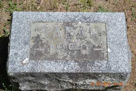 OLNEY, SARAH H. - Calhoun County, Michigan   SARAH H. OLNEY - Michigan Gravestone Photos