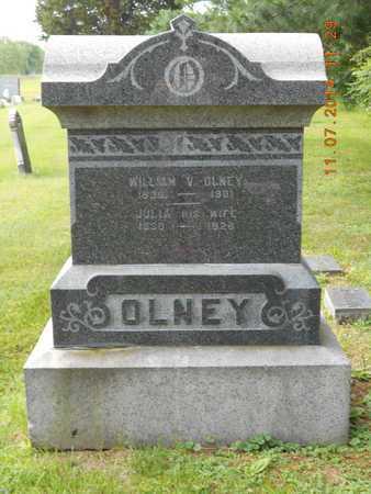 OLNEY, WILLIAM V. - Calhoun County, Michigan | WILLIAM V. OLNEY - Michigan Gravestone Photos