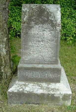TIFFANY OUTMAN, ALMIRA - Calhoun County, Michigan | ALMIRA TIFFANY OUTMAN - Michigan Gravestone Photos