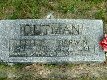 TAYLOR OUTMAN, BELLE - Calhoun County, Michigan | BELLE TAYLOR OUTMAN - Michigan Gravestone Photos