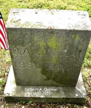 OUTMAN, DELBERT - Calhoun County, Michigan | DELBERT OUTMAN - Michigan Gravestone Photos