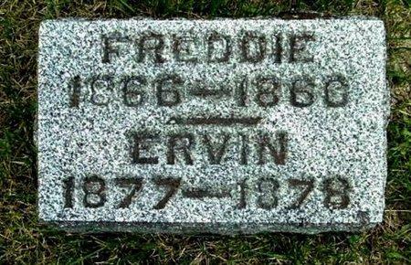 OUTMAN, ERVIN - Calhoun County, Michigan   ERVIN OUTMAN - Michigan Gravestone Photos