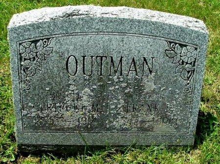 OUTMAN, FRANK L - Calhoun County, Michigan | FRANK L OUTMAN - Michigan Gravestone Photos