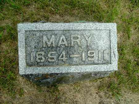 OUTMAN, MARY - Calhoun County, Michigan | MARY OUTMAN - Michigan Gravestone Photos