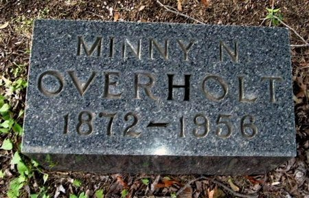 OVERHOLT, MINNY N - Calhoun County, Michigan | MINNY N OVERHOLT - Michigan Gravestone Photos