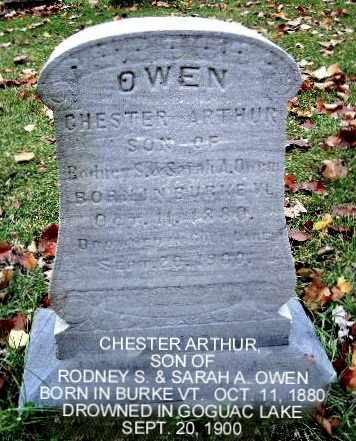 OWEN, CHESTER A - Calhoun County, Michigan | CHESTER A OWEN - Michigan Gravestone Photos