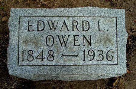 OWEN, EDWARD L. - Calhoun County, Michigan | EDWARD L. OWEN - Michigan Gravestone Photos