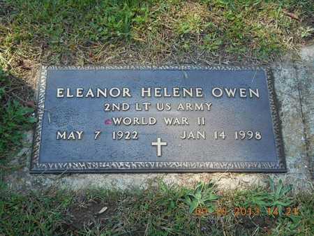 OWEN, ELEANOR HELENE - Calhoun County, Michigan   ELEANOR HELENE OWEN - Michigan Gravestone Photos