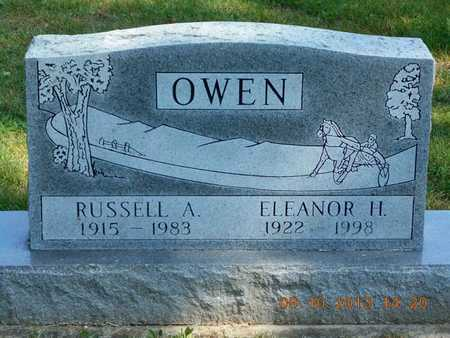 OWEN, ELEANOR H. - Calhoun County, Michigan | ELEANOR H. OWEN - Michigan Gravestone Photos