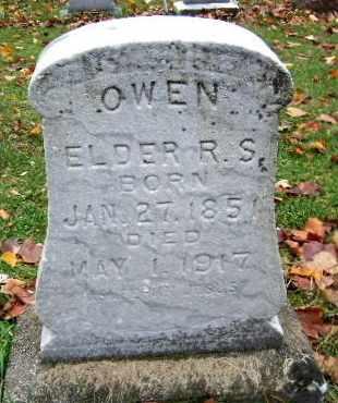 OWEN, RODNEY S - Calhoun County, Michigan | RODNEY S OWEN - Michigan Gravestone Photos