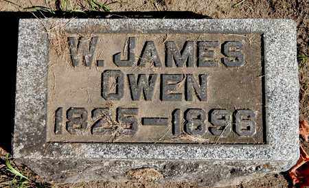 OWEN, WILLIAM J - Calhoun County, Michigan | WILLIAM J OWEN - Michigan Gravestone Photos