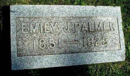 PALMER, EMILY J - Calhoun County, Michigan | EMILY J PALMER - Michigan Gravestone Photos