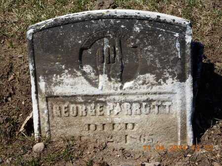 PARROTT, GEORGE - Calhoun County, Michigan   GEORGE PARROTT - Michigan Gravestone Photos